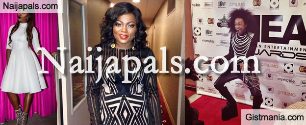 Nigerian Celebrities at the 2014 NEA Awards