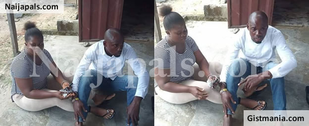 Lady & Boyfriend Arrested In Delta For Stealing 190K Given To Her Widowed Sister By Sympathizers