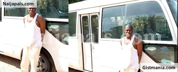 Armed Robber, Ibrahim Usman Nabbed With Stolen 32-seater Toyota Coaster Bus In Katsina (Photo)
