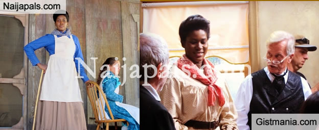 "Stephanie Okereke-Linus Plays a 'Maid' in Hollywood movie ""Boonville Redemption"""