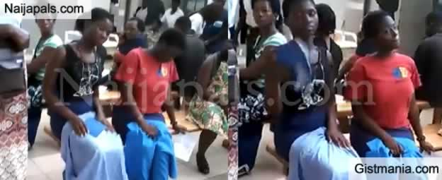 Secondary School Shut Down Over Strange Trend Of Girls Shaking Their Bre@st In Class (Video)