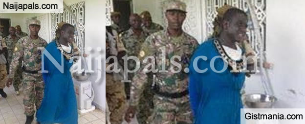 Male Suicide Bomber Dressed as a Woman Caught in Chad (PHOTO)
