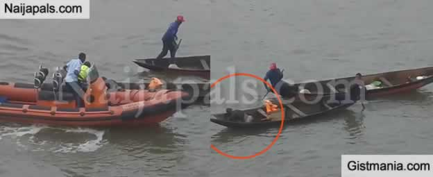 Man Attempts To Kill Himself By Jumping Off A Bridge In Lagos