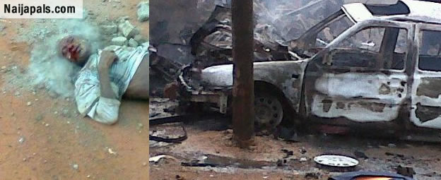 Idiot! See What Was Left Of The Female Bomber That Blew Mall In Kano