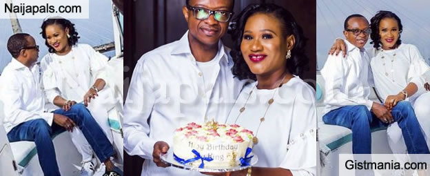 Tuface Babymama, Sunmbo Ajaba Celebrates Her Hubby's Birthday With Lovely Romantic Pictures
