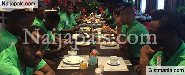 Photo Of Vincent Enyeama In The Super Eagles Camp This Morning