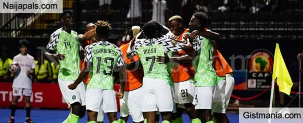 Super Eagles Become First Nation To Qualify For AFCON Round Of 16 - Thanks To Omeruo's Goal