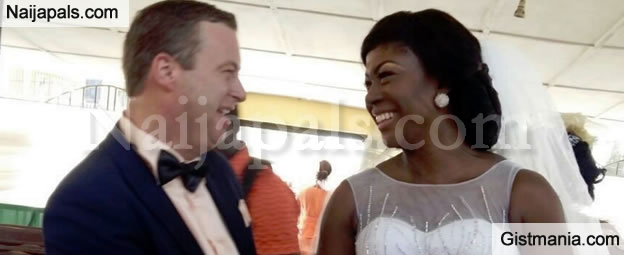 BREAKING NEWS! Susan Peters Marries Her White Dutch Boyfriend In Lagos [Photos]