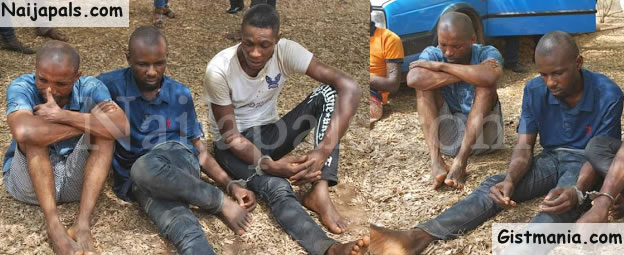 Suspected Hoodlums Who Abducted Woman And Collected N2M Ransom Arrested In Delta (Photos)