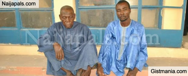 Photo Of Two Men Arrested With Fake N8Million In Niger State