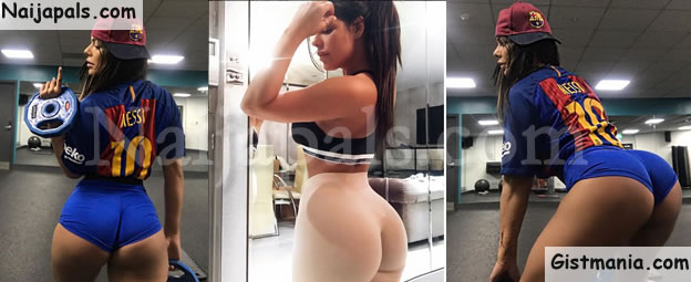 Brazilian Beauty, Miss Bum Bum & Staunch Lionel Messi Admirer, Suzy Cortex Releases Sexy New Photos