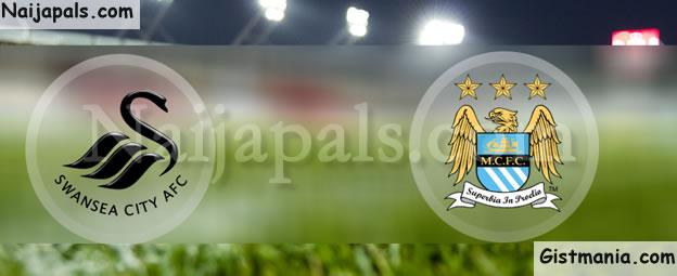 EPL! Swansea City (1) vs (3) Manchester City - FULL TIME!