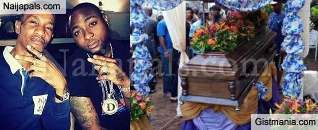 Davido's Friend, Tagbo Umeike Buried Amidst High Emotions In Anambra State (Photos)