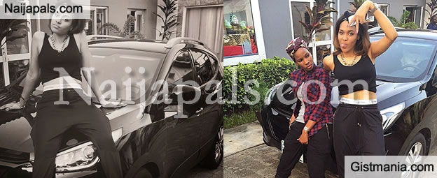 The 90's Style! Tania Omotayo Displays Her New Swag