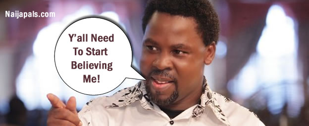 Ghana Bans TB Joshua From Holding Crusades In The Country
