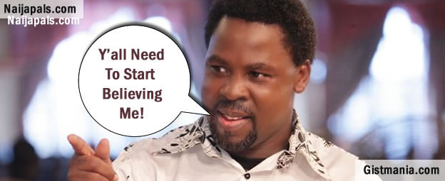 TB Joshua is at it Again- Say's Barack Obama Will Fall Sick Soon