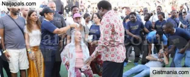 Prophet TB Joshua Performs Miracles In Nazareth, Pulls Huge Crowd