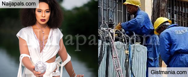 Tboss Blasts Abuja Electricity Distribution Company For Billing Her N95k a Month