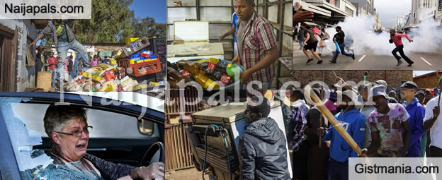 More Terrifying Photos Of The Ongoing Xenophobic Attacks In South Africa