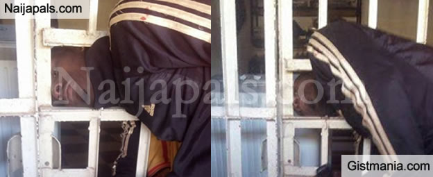 LMAO! Thief Gets His Head Stuck in Gate Overnight While Trying to Escape (PHOTOS)