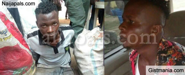 Thieves Who Burgled A Shop at The Wee Hours Saved From Being Burnt To Death in Aba (Photos)