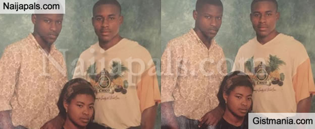 Vincent Enyeama Shares Throwback Photo Of Himself With Mum & Brother