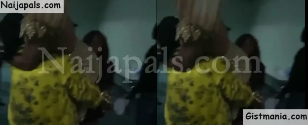 'I Am Not Wearing Pant' - Toke Makinwa Cries Out After Timaya Carries Her (Video)