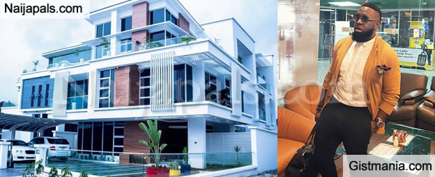 Timaya's Completed Multi-Million Naira Mansion Is So Magnificent - See Photos