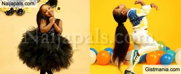 Timaya Celebrate His Second Daughter, Grace As She Clocks 4 Today