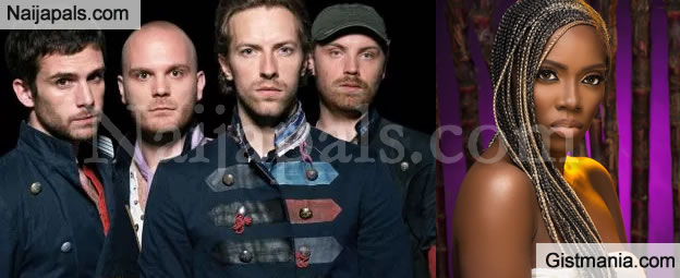 Bristish Rock Band, Coldplay Sends Shout Out To Tiwa Savage On Her New EP, Sugarcane