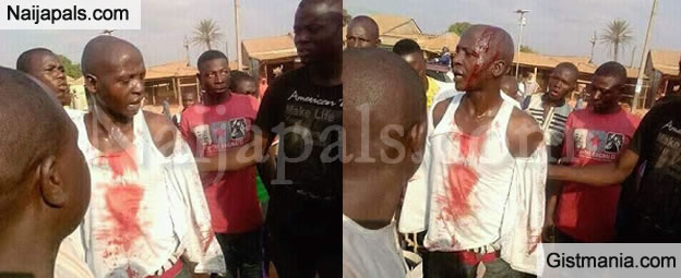 PHOTOS: Policeman Saved From Committing Suicide After Getting Transferred To Tella, Taraba State