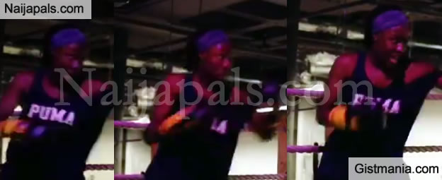 Billionaire Femi Otedola's Daughter, Tolani Is a Boxer, Checkout Her Video