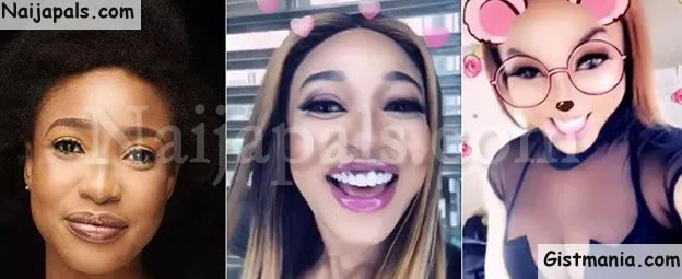 Born Again Tonto Dikeh Shows Off Her Cleavage As She Praises Her Plastic Surgeon (Video)