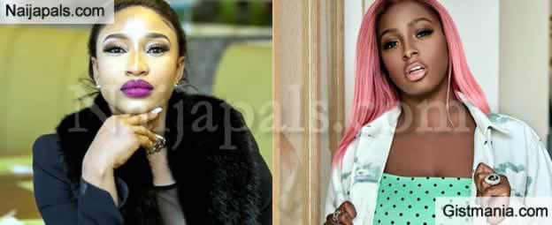 DJ Cuppy Lacks Passion, Otedola Should Have Donated To Other Charities - Tonto Dikeh