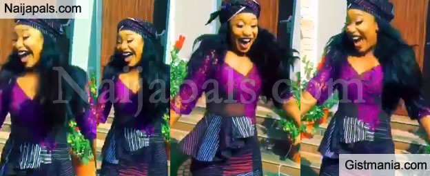 VICTORY DANCE! Tonto Dikeh Celebrates Finalizing Her Divorce From Churchill With Dance (Video)