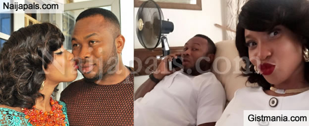 Tonto Dikeh's Husband Churchill Blocks Friend On IG For Exposing His 'Dirty' Secrets To Wife