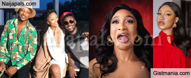 I Will Disgrace You If You Beg My New Man For Money - Tonto Dikeh Warns Tuface, IK Ogbonna & Others