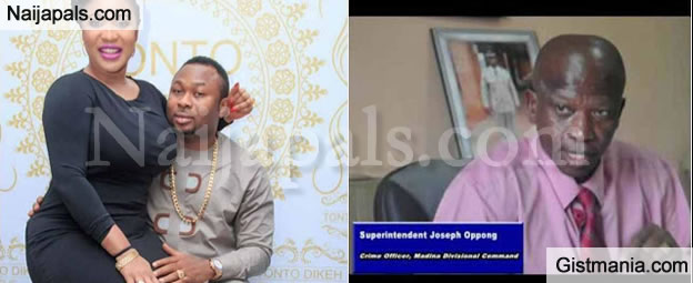 Ghana Police Chief Grant Interview And Spill More Secret On Tonto Dikeh's Marriage Scandal (Video)