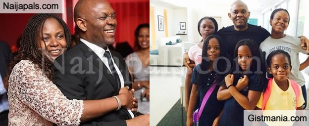 UBA Chairman, Tony Elemelu & Wife Welcome Twin Boys After Five Girls