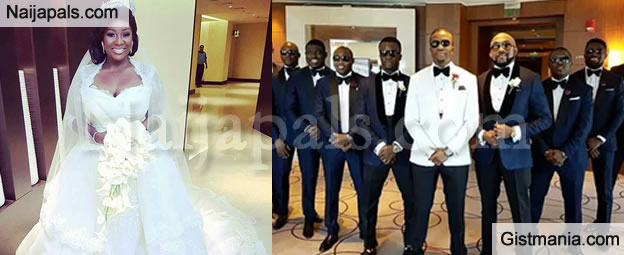 First Wedding Photos Of Toolz and Tunde Demuren In Dubai