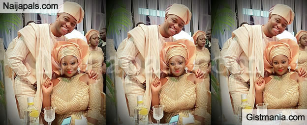 PHOTO: Curvy Cool FM OAP, Toolz & Hubby, Tunde Demuren Look Dashing In Traditional Attire