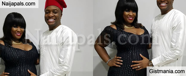 Congrats! Toolz Welcomes Baby Girl With Her Husband, Tunde Demuren In London