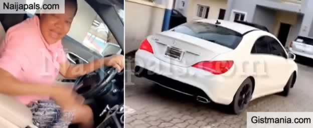 Toyin Aimakhu Abraham Buys a New Benz To Celebrate Her Son, Ire