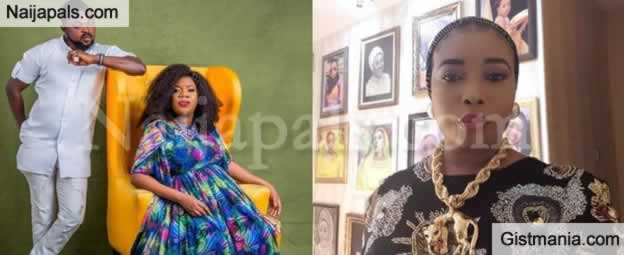 Toyin Abraham Pregnant For Her New Husband, Kolawole Ajeyemi, Flaunts Bump In New Photos