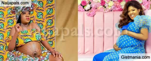 Full Video Of Actress, Toyin Abraham Child Delivery In Lagos
