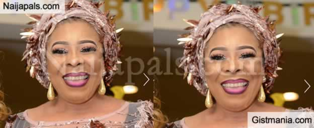 Photos From Nollywood Veteran Actress And Mayorkun's Mother, Toyin Adewale's 50th Birthday