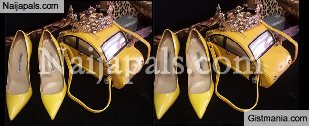 PHOTOS: Celebrity, Stylist Toyin Lawani Shows Off Her Rare Hand Bag Design