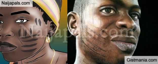 See Different Tribal Marks In Nigeria And What They Depict