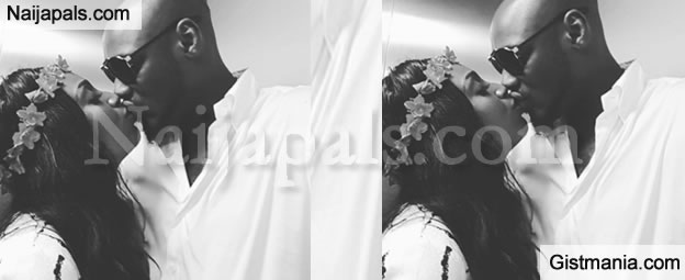 Annie Idibia Releases Loved Up Photo With Hubby 2face To Celebrate Her Step Son, Nino -Pix