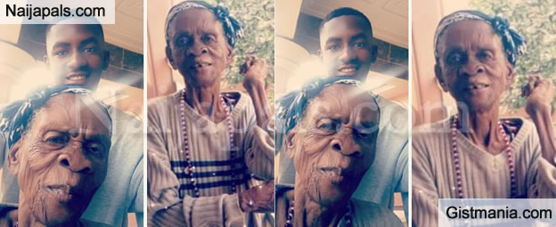 Twitter User, Chidi Celebrates His Great Grandmother Who Is Over 100 Years Of Age (Photos)